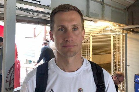 BYTTET UT: Morten Gamst Pedersen har spilt samtlige 90 minutter i alle de 13 kampene han har startet i år - bortsett fra cupkampen mot Norild, da TIL ledet 7-1, og i dagens kamp, da han overraskende ble byttet ut til pause.