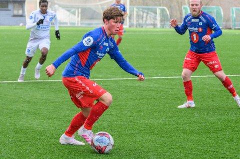 I STORFORM: Sander Finjord Ringberg var TUILs bestemann i cupkampen mot KFUM. Her fra en tidligere anledning.