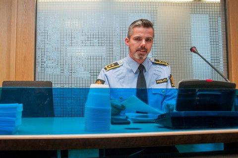 FENGSLING: Politiadvokat Christian Hanssen møtte i fengslingsmøte i Nord-Troms tingrett onsdag. Her ble et tromsøpar varetektsfengslet i fire uker, siktet for menneskehandel.