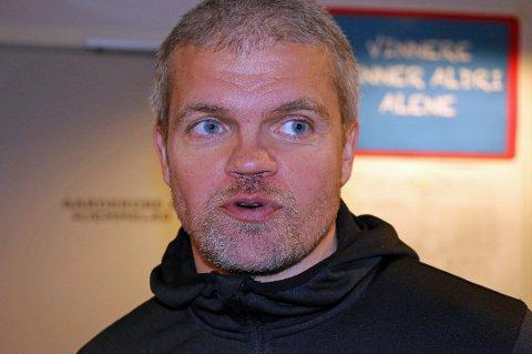FORVENTNINGER: Gaute Ugelstad Helstrup får merke at det er ambisjoner på Hamar. Rollen hans som HamKam-trener er gjenstand for diskusjoner både i lokalmedia og blant supportere i sosiale medier.