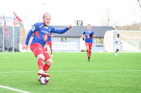 Andreas Løvland spilte en stor kamp på TUILs midtbane. Her fra en tidligere anledning.