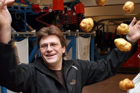 Daglig leder Halgeir Jakobsen i Tromspotet tror det blir en bra potethøst i fylket.