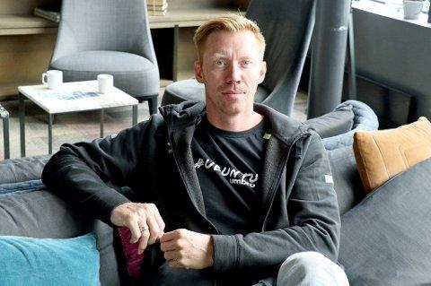 Tidligere landslagsspiller og nåværende assistenttrener på landslaget, Børge Lund, tok turen innom Tromsø i helgen.