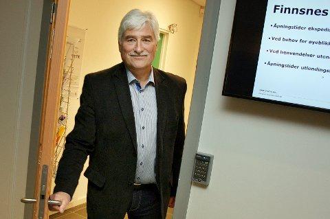 Ordførerkandidat Arnold Nilsen (Ap) i nye Senja kommune.