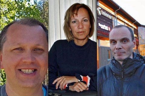SEIERHERRENE: Her er tre av Sp-toppene i Troms som gjorde et brakvalg i sine kommuner. Fra venstre, Bengt-Magne Luneng som ligger an til å bli ny Sp-ordfører i Målselv, Sigrun Wiggen Prestbakmo som styrker stillingen som ordfører i Salangen, og Toralf Heimdal, Sp-ordføreren i Bardu som ligger an til å fornye tilliten med over 60 prosent av stemmene.