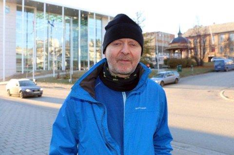 GODE UTSIKTER: - Målingene tyder på at de som støtter reversering av sammenslåingen får flertall på fylkestinget, sier Bjørn Willumsen i «For Troms».