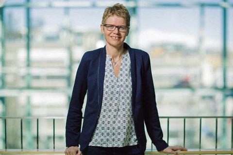 FORESLÅR MERE SKATT: Administrasjonen i Tromsø kommune, her ved administrasjonssjef Britt Elin Steinveg, foreslår å kontorjustere eiendomsskatten i budsjettforslaget. Det er ikke mange av ordførerkandidatene helt med på.