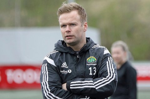Finnsnes-trener Alexander Samuelsen er fornøyd om dagen-