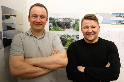 PARTNERE: Håvard Sigvaldsen (t.v.) og Nils Steinar Mortensen.