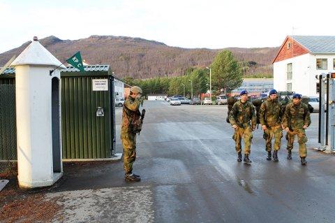 GIV AKT: Militærleiren på Skjold i Øverbygd skal fra i mai reingjøres av et nytt firma.