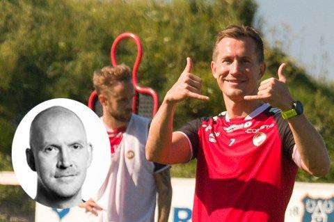 FORTJENER NY AVTALE: TIL bør tilby Morten Gamst Pedersen ny kontrakt. Det vil være bra, både sportslig og omdømmemessig, skriver sportsjournalist Torje Dønnestad Johansen
