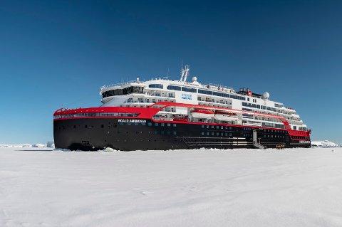SAKSØKES: Hurtigruten saksøkes av Maskinistforbundet og Sjøoffisersforbundet.