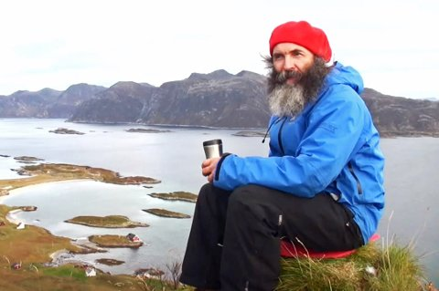 Søren Thamdrup på Sandøya