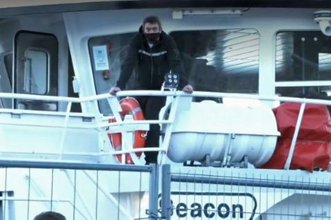 SYK: Styrmann Bård Roar Tangstad har i likhet med elleve andre om bord på Stormhav symptomer på korona.