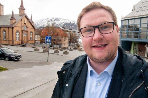 FORNØYD: Erlend Svardal Bøe.
