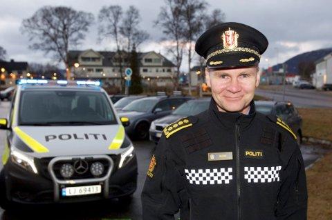 MYE BEDRE: Regionlensmann Ole Johan Skogmo mener nærpolitireformen har vært en stor suksess i Nord-Troms.