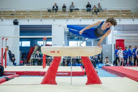 NM-ARENA: Tromsø turnhall er arrangørsted for junior-NM i turn i Tromsø i helga.