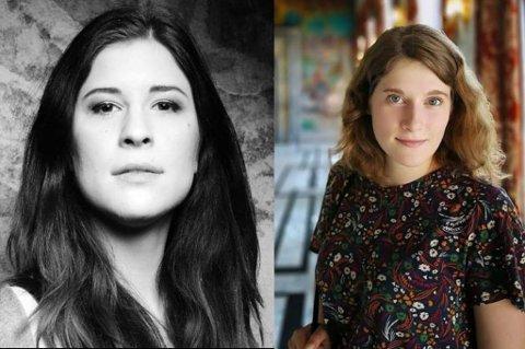 TAR TIL GATENE: Katarzyna Łukaszek  og Ewa Lugowska er to av initiativtakerne bak en demonstrasjon på torget i Tromsø i morgen.