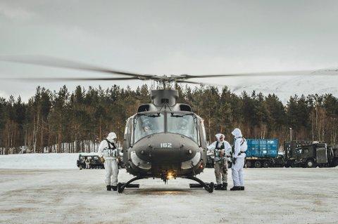 HELIKOPTER: Frp vil ha en ny helikopterskvadron på Bardufoss.