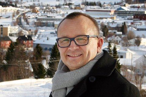 Ordfører Jan-Eirik Nordahl i Sørreisa kommune.
