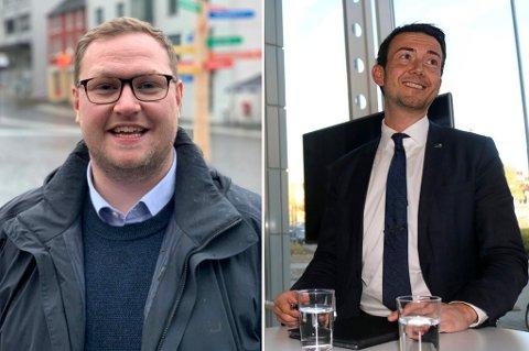 KAMP: Erlend Svardal Bøe eller Kent Gudmundsen? Søndag avgjør Høyre i Troms nominasjonslista foran neste års stortingsvalg.