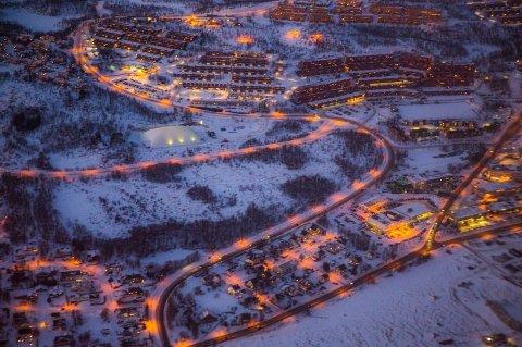 LEILIGHET: En leilighet på Stakkevollan i Tromsø sto sentralt i utpressingssaken mot den 50 år gamle kvinnen. Nå er det falt dom i saken i Nord-Troms tingrett.