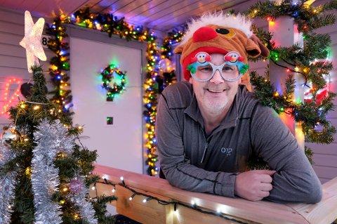 JULEGLEDE: Bjørn Martinsen har godt over middels interesse for jula.