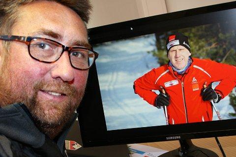 SPENT: Daglig leder Ivar Holand i Reistadløpet er glad for at Oddvar Brå kommer, men håper ikke at koronaviruset gjør det samme.