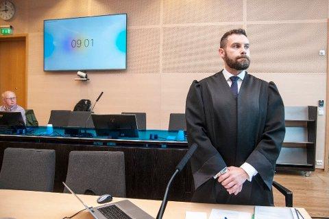 AKTOR: Politiadvokat Ronny André Jørgensen avbildet i Nord-Troms tingrett. Han var aktor i straffesaken mot 29-åringen fra Tromsø.