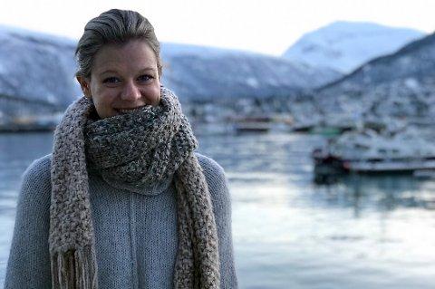 I TROMSØ: Christina Lein Størmer skulle egentlig vært hjemme i Shanghai. Men nå er hun fast i Tromsø, på ubestemt tid.
