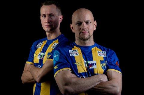 ALTA-SUKSESS: Morten Gamst Pedersen og Hans Eriksen Norbye har fått en god start i Alta IF med to seire på to forsøk så langt.
