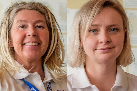 FRA UNN: Sykepleier Sissel Jansen (t.v.) og anestesilege Solveig Johnsen er to av 19 helsearbeidere som reiser til Italia denne uka. De er begge frivillige i Norwegian Emergency Medical Team (NOR-EMT). Foto: Direktoratet for samfunnssikkerhet og beredskap (DSB)