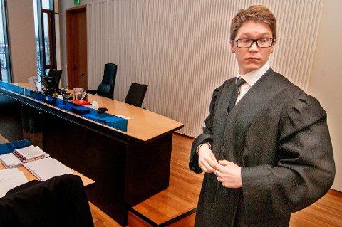 VENTER: Håvard Utstøl Jakobsen sier han vil vente med å kommentere underslagssaken i media.
