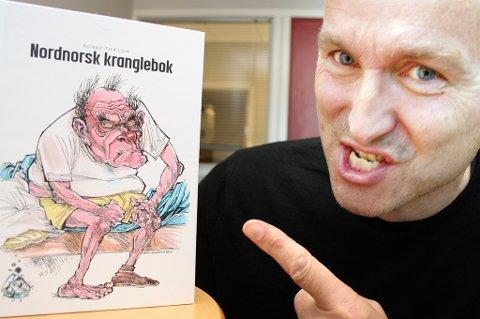 TAR AV: Ronny Trælvik selger nordnorske humorbøker som aldri før under koronakrisen.