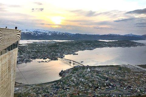 VOKSER: Tromsø er tilbake på normalt nivå når det gjelder folkevekst, og har passert 77.000 innbyggere.