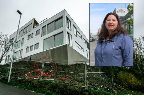 RYSTET: Tone Marie Myklevoll (Ap) vil jobbe for å unngå overraskelser ved nye byggeprosjekt. Hun er rystet over hvordan Storhaugen-prosjektet i Tromsø nå ser ut. Ikke til å kjenne igjen, mener Arbeiderparti-politikeren.