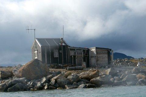 SALLYHAMN: Fangsstasjonen ble etablert av Waldemar Kræmer fra Tromsø på 30-tallet, og fikk navnet etter hans daværende samboer og senere kone, Sally.