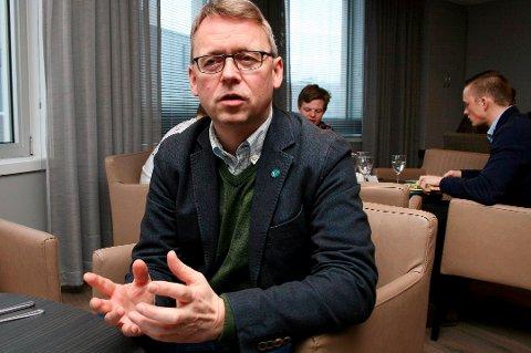 UFORSTÅELIG: Morten Skandfer synes det var uforståelig at forslaget hadde kommet så langt som til kommunestyremøtet. Her fra en tidligere anledning.