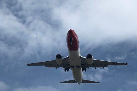 STARTER NY RUTE: Norwegian starter ny direkterute mellom Tromsø og Bergen. Foto: Are Medby