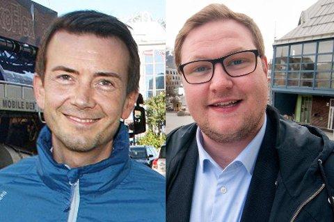KANDIDATER: Kent Gudmundsen og Erlend Svardal Bøe