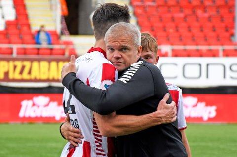 FLERE ENDRINGER: Gaute Ugelstad Helstrup gjør tre endringer på laget som vant mot HamKam på torsdag.