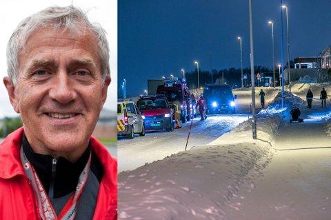 FØRST PÅ STEDET: Olaf Jacobsen var mannen som oppdaget den forlatte barnevogna på Fagereng i desember i fjor. Ni måneder senere vil han gjerne oppfordre alle til å være årvåkne.