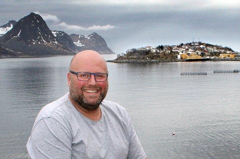VOKSER: Thor Meland sier Husøy trenger en 10-årsplan å styre veksten etter.