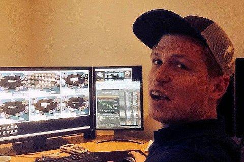 MILLIONGEVINST: Ola Amundsgård vant 2,1 millioner kroner i VM i nettpoker.