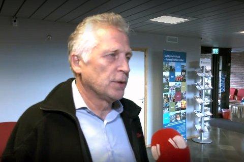 ALLE SKAL HJEM: Ifølge Rådmann Øyvind Korsberg kan alle de evakuerte beboerne i området der det gikk jordras tirsdag på Storsteinnes, flytte hjem igjen i løpet av de neste fem-seks ukene.