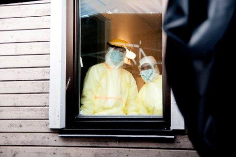 MÅ FLYTTES: Koronasenteret holder hus i et bygg som var tenkt som tilbud til psykisk utviklingshemmede i Tromsø kommune.