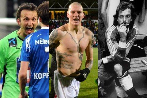 KARAKTERER: Sead Ramovic, Zdenek Ondrasek og Bjarte Flem er med på nest siste del av vår topp 100-liste.