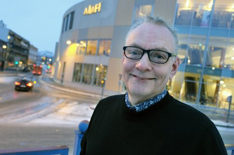 GLAD MANN: Senterleder Stig Bergheim kan takke koronaen for at han satte omsetningsrekord i 2020.