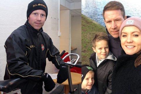 HJEMKOMST: Bjørn Vidar Stenersen, til høyre sammen med kona Lene og barna Jonathan (10) og Isak (6), ser frem til å komme hjem til Tromsø etter sju gode år i København.