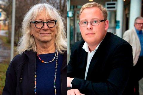 STEMTE JA: Både Gunhild Johansen og Kristoffer Kanestrøm stemte ja til private sykehjemsplasser i Tromsø.